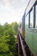 Train Over Tressel Vt