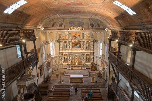 Valokuvatapetti L'église d'Espelette