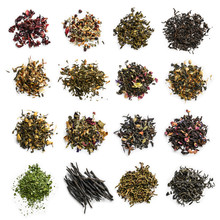 Large Assortment Of Tea On A W...