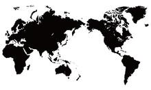 世界地図 イラスト