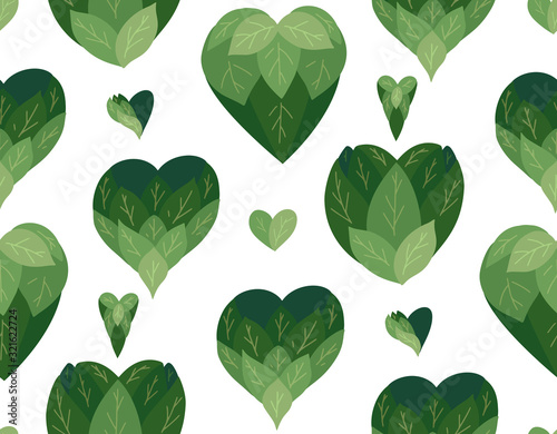 seamless-flat-pattern-with-doodle-hearts-from-leaves-on-a-white-background-natural-love-save-nature-vector-eco-texture-for-wallpapers-fabrics-and-your-creativity