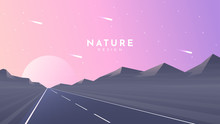 Vector Illustration. Highway A...