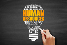 HR - Human Resources Light Bul...
