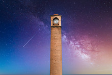 Old Clock Tower In Adana, City...