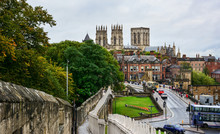 Skyline Of York, UK, Seen From...