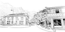 Chamonix Mont Blanc. France. H...