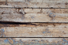 Rustic Old Blue Wooden Backgro...