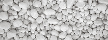 White Pebbles Stone For Backgr...