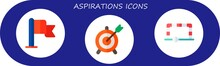 Aspirations Icon Set