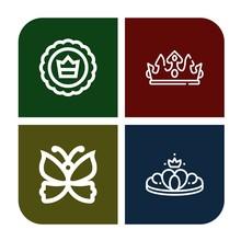 Monarch Icon Set