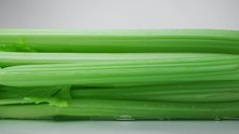 Close-up Of Fresh Green Wet Ce...