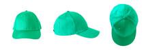 Set Of Green Caps
