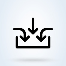Business Multiple Inputs Icon....