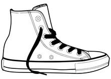 Sneaker Outline