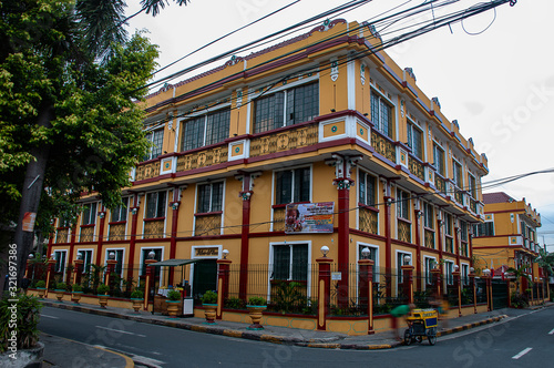 Fotomural Historic buildings of Intramuros in Manila, Philippines