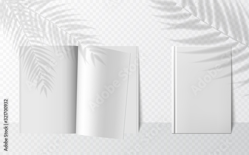 Transparent shadow overlay effects for branding Wallpaper Mural