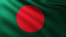 Large Flag Of Bangladesh Fulls...