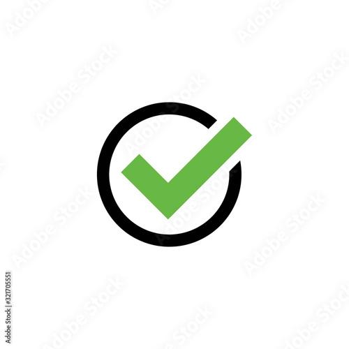 bullet icon design vector logo template EPS 10 Fotobehang