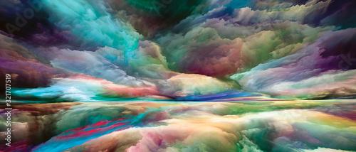 Obraz Processing Dreamland - fototapety do salonu