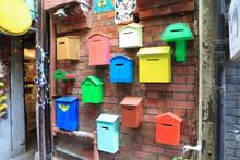 Colorful Postbox At Tianzifang...
