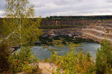 Old Quarry Which Is Converted ...