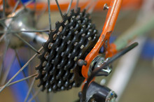 Closeup Rear Cassette Of The R...