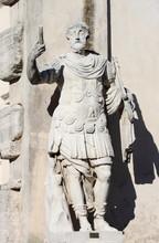 Statue Of A Roman Militar Leader