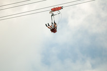 Zip Lining From The Steepest Z...