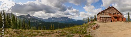 Granite Park chalet in Glacier National Park #321741143
