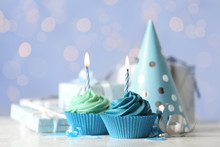 Delicious Birthday Cupcakes Wi...