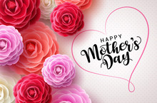 Happy Mothers Day Vector Greet...