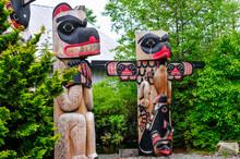 Alaskan Totem Poles