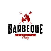 Barbecue Logo Design. Fresh St...