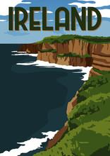 Ireland Vector Illustration Background