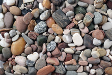 Gravel Pattern Of Colored Ston...
