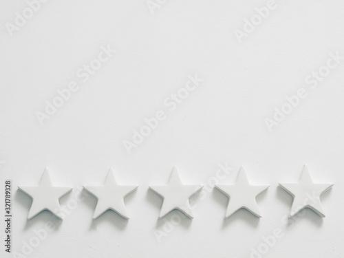 Quality rating Canvas Print