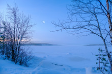 Winter Landscape In Russia. Ne...