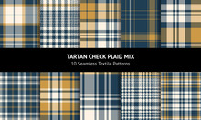 Tartan Plaid Pattern Backgroun...