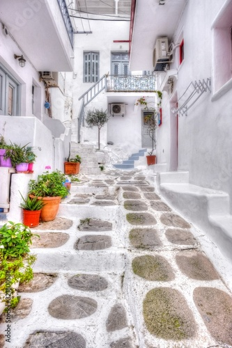 ギリシャの風景 Canvas Print