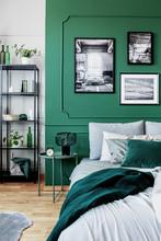 Stylish Bedroom Interior With ...