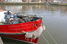 Fishing Boat In Whitby Harbour...