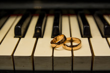 Wedding Rings For Newlyweds On...