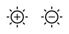 Brightness Vector Icons