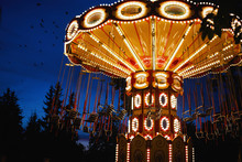 Carousel Merry-go-round In Amu...