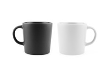 Black And White Mugs From Diff...