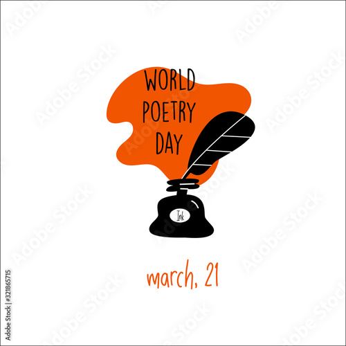 Fotomural World poetry day, march 21
