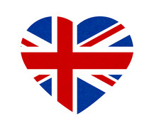 Grunge Flag Of Great Britain, ...