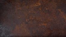 Rusty Grunge Dark Metal Textur...