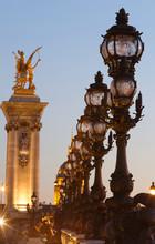 The Bonze Lamps On Famous Alex...
