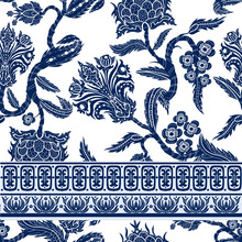 Seamless Pattern With Branches...